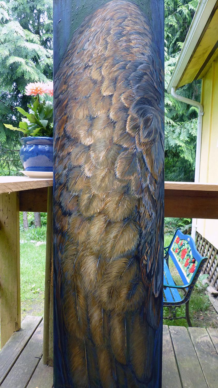 wing 2009 acrylic 15x54