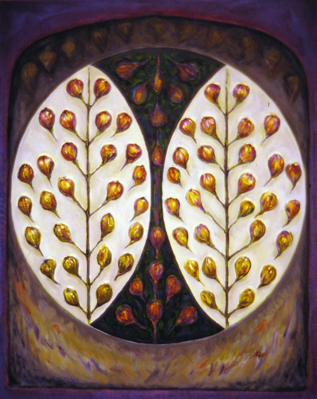 wild figs 1996 oil 30x24
