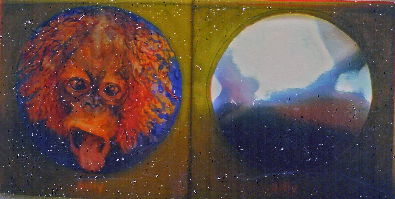 i am a little orangutan book 5 silly 1996 acrylic on canvas 9x10