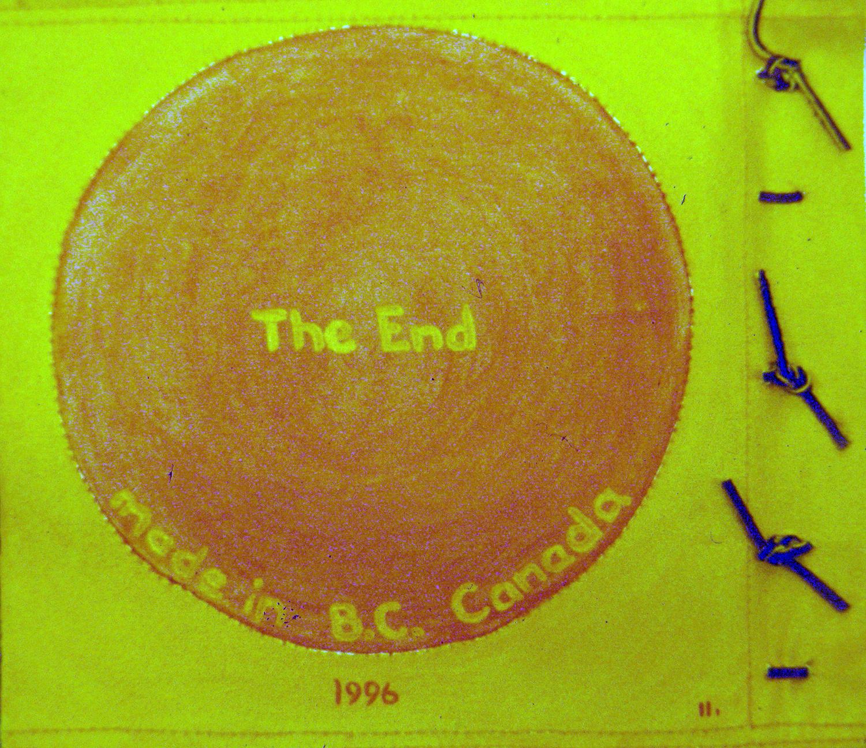i am a little orangutan book 1 end 1996 acrylic on canvas 9x10