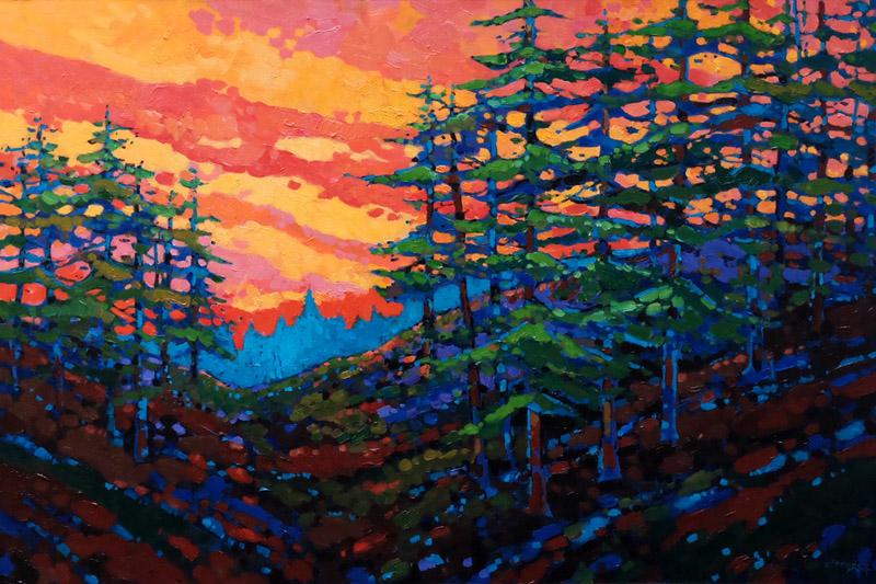"""Pining Away"" Oil painting (24x36)"