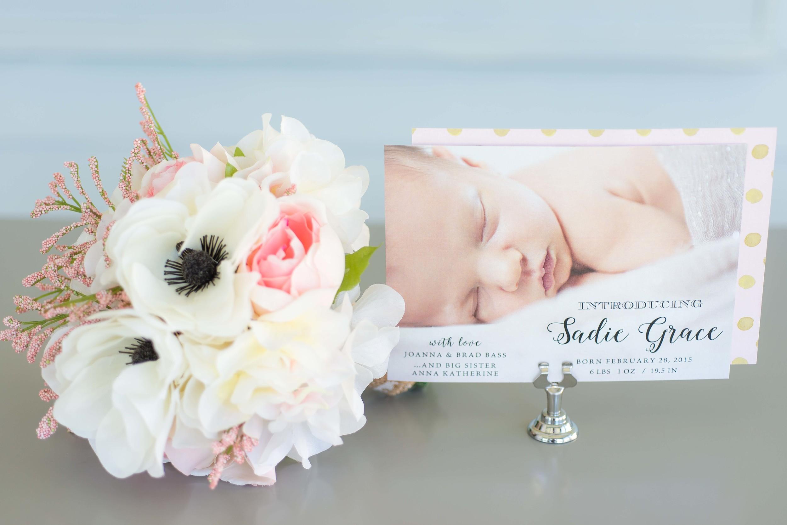 Custom Designed Baby Announcements