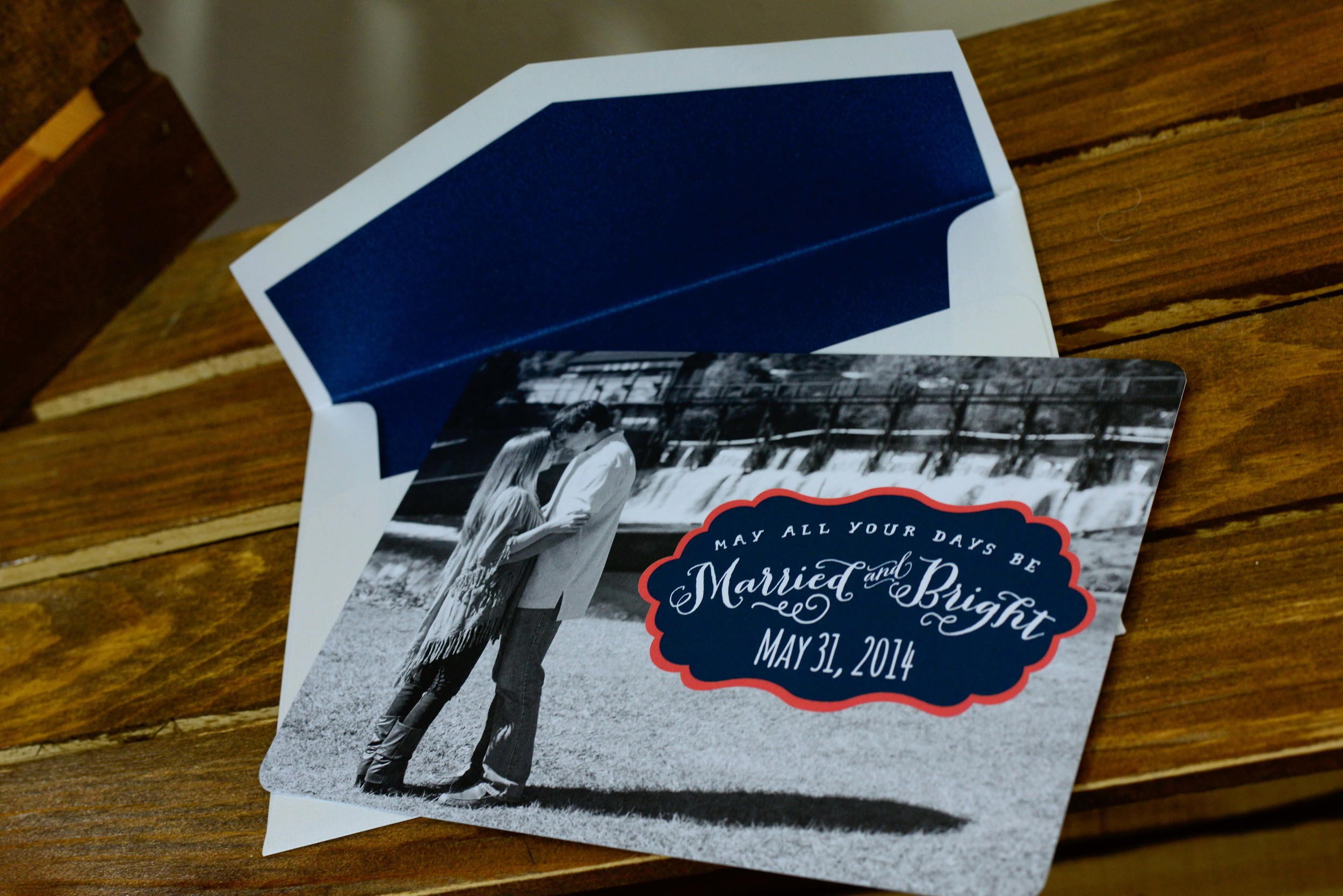 Save-the-Date Christmas Greeting Cards