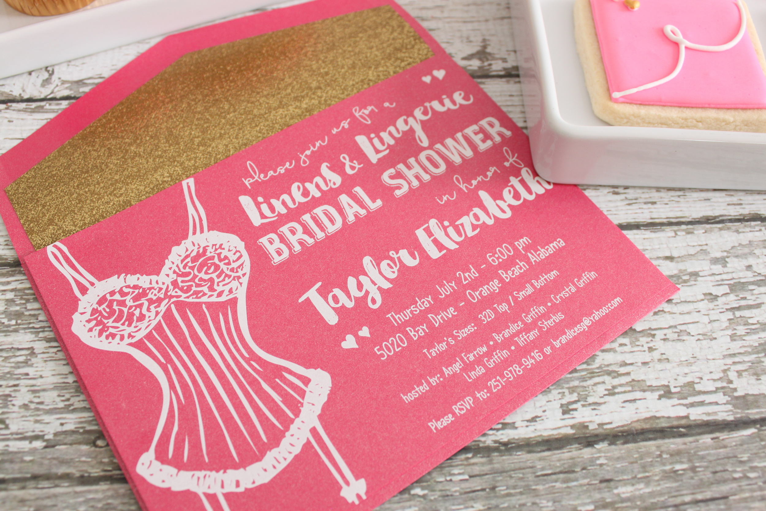 Linens & Lingerie Bridal Shower