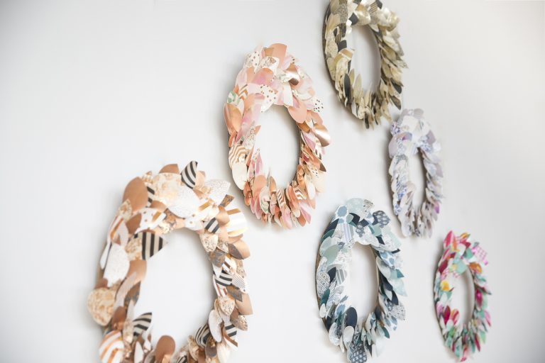Paper Wreath Making Workshop at Soiree Signatures