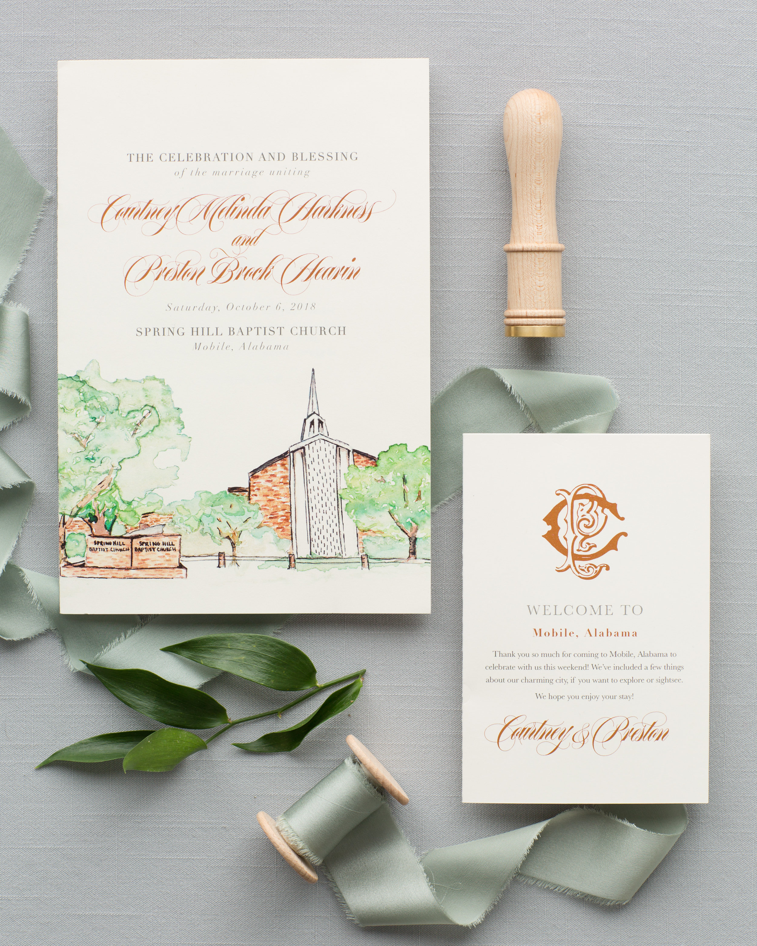 Wedding Programs& Welcome Booklets -