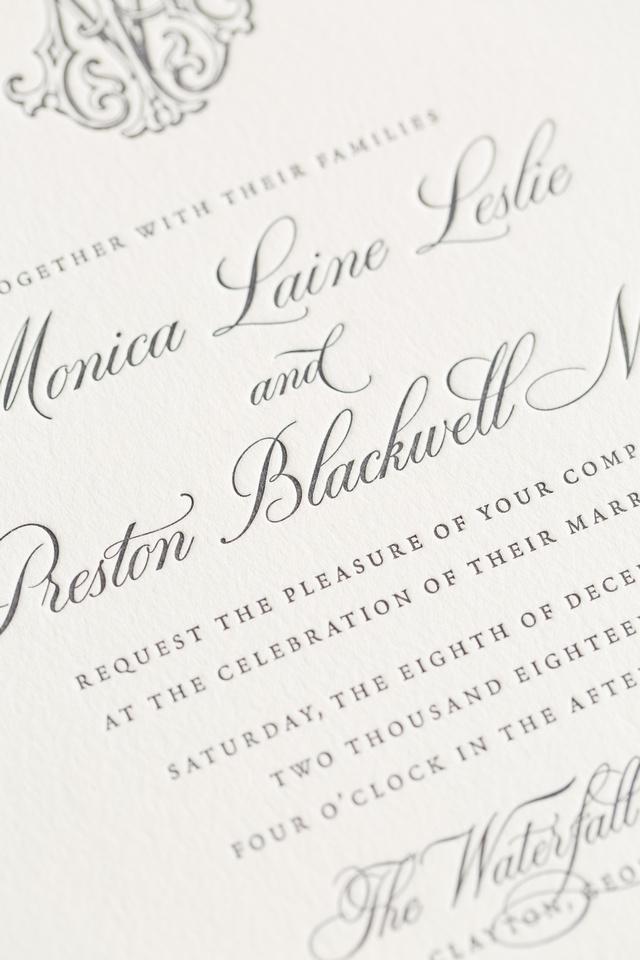 Letterpress Close-Up