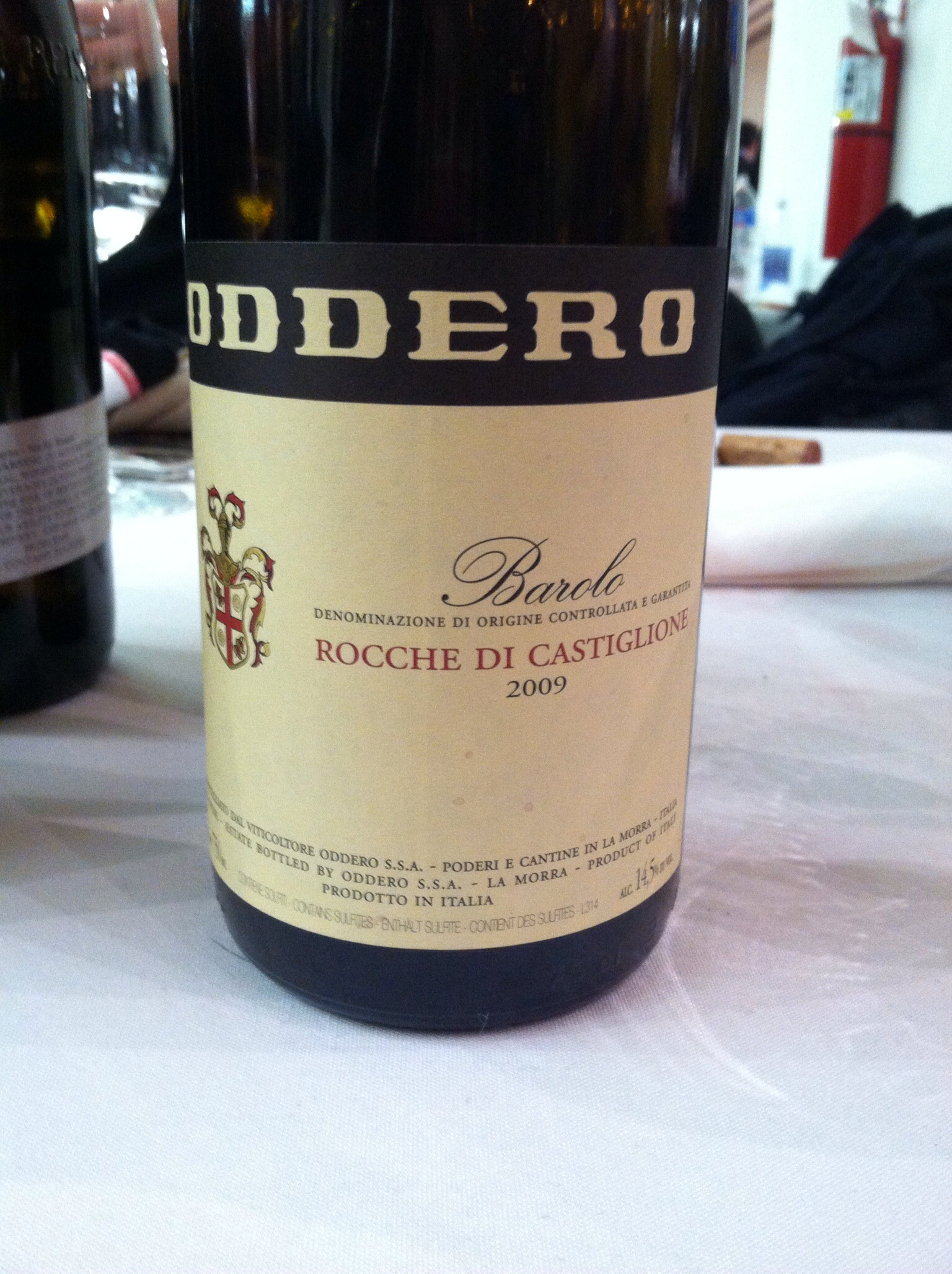 The newest Barolo release from a good Piedmont producer