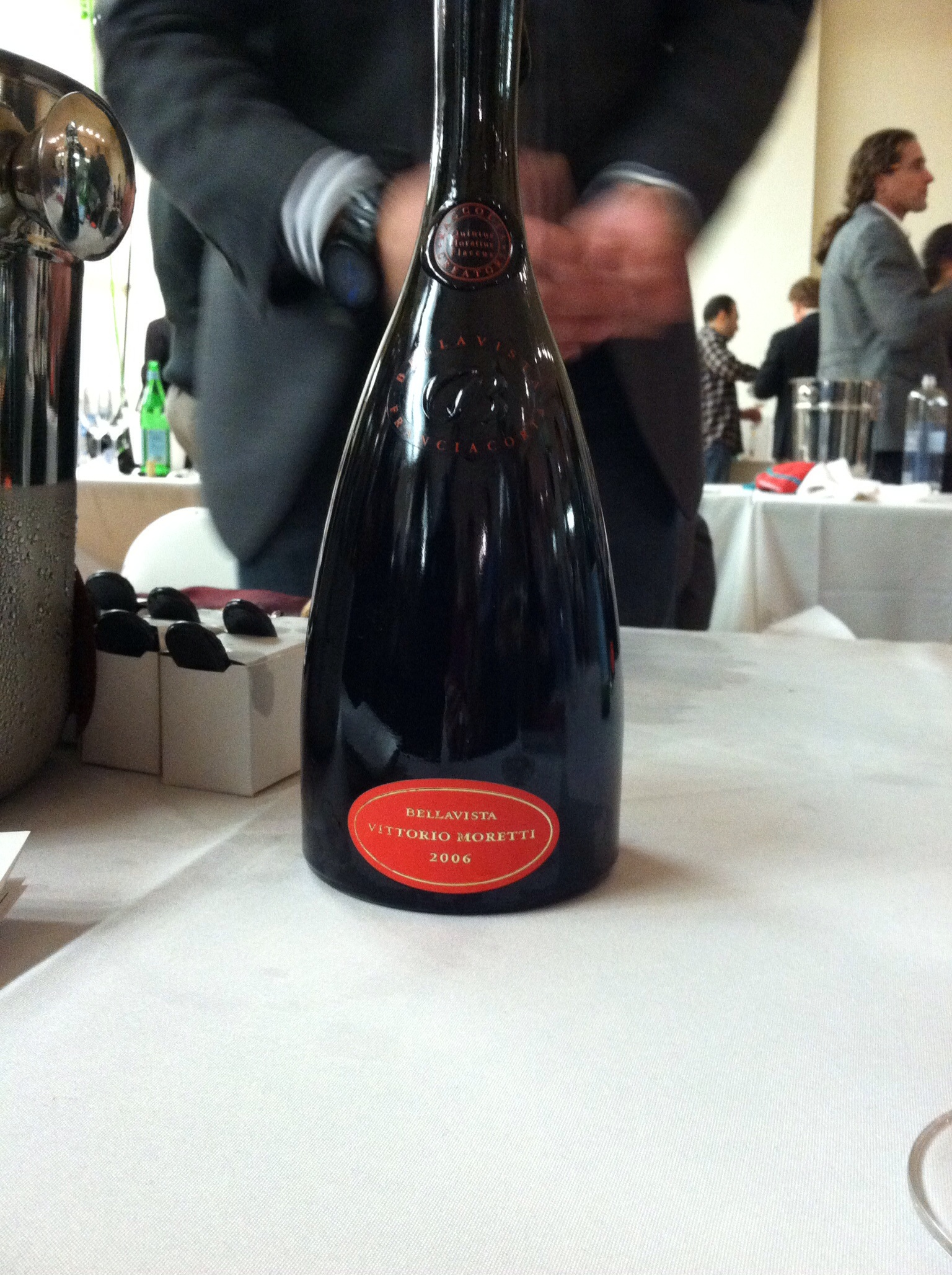 Franciacorta, one of Italy's great sparkling wines
