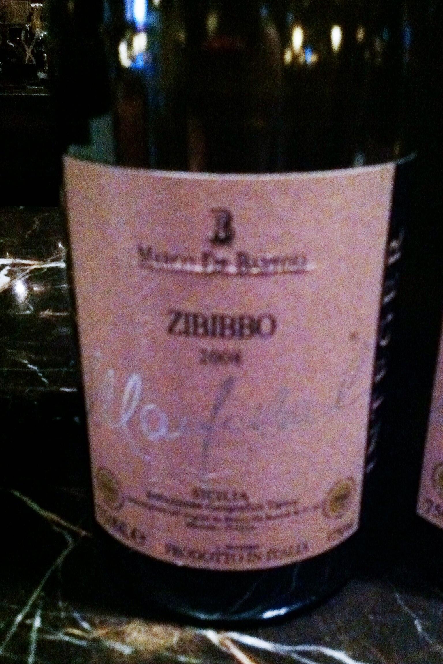 Zibbibo, photo by Shana Sokol of Shana Speaks Wine