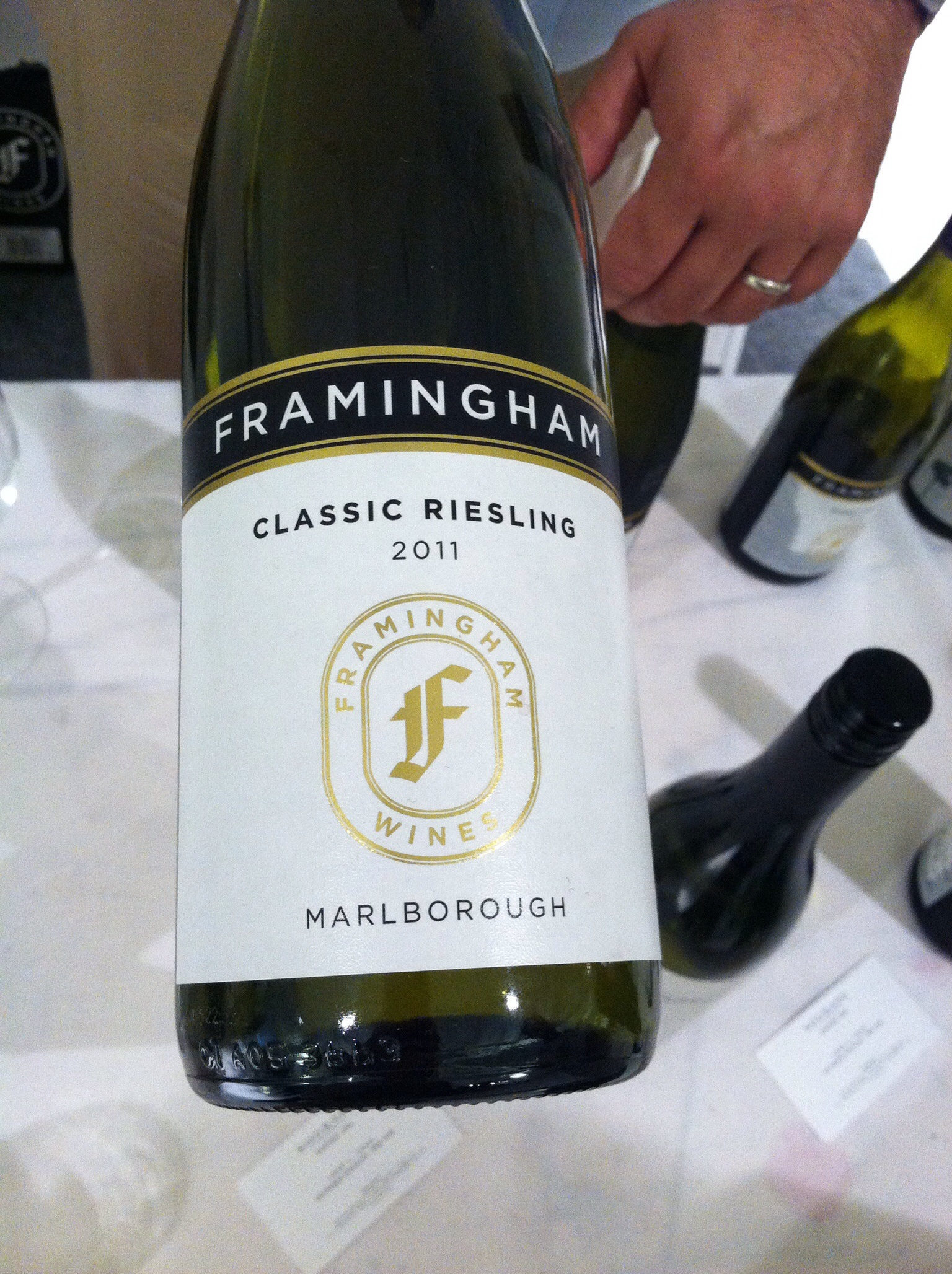 Framingham Classic Riesling, 2011.  Photo by Shana Sokol, Shana Speaks Wine