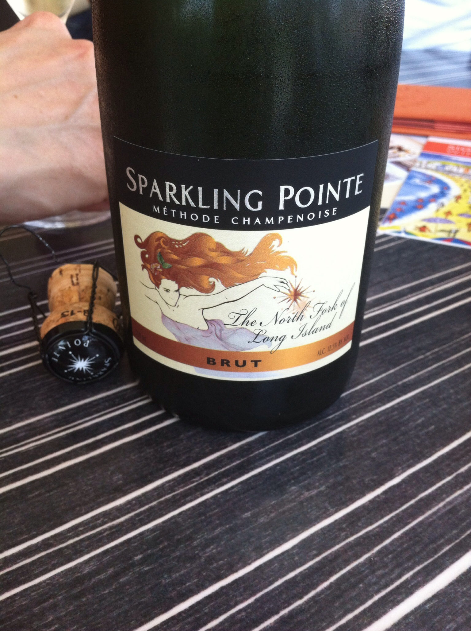 Sparkling Pointe Brut, 2010.  Photo by Shana Sokol, Shana Speaks Wine.