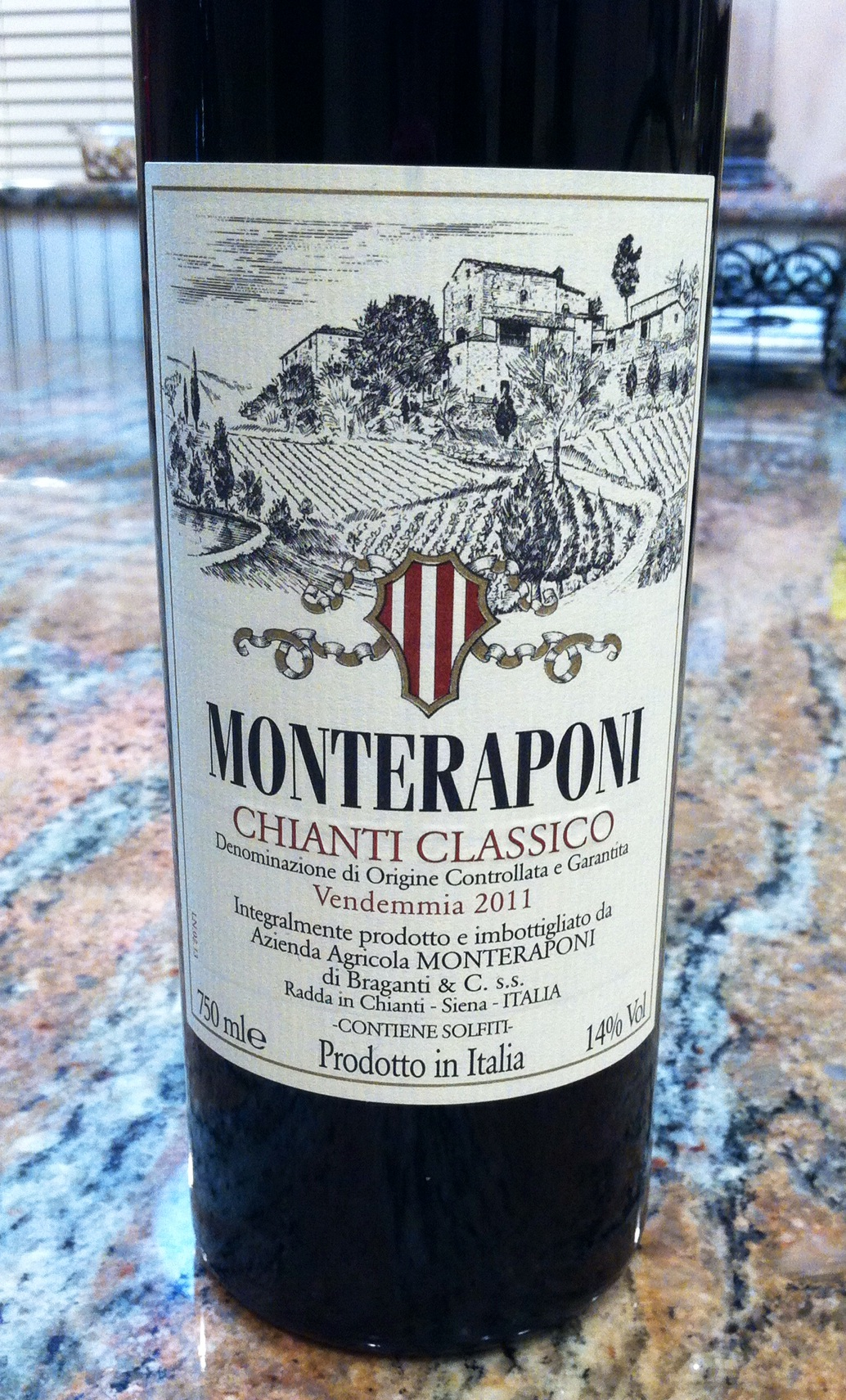 Monteraponi Chianti Classico, Photo by Shana Sokol, Shana Speaks Wine