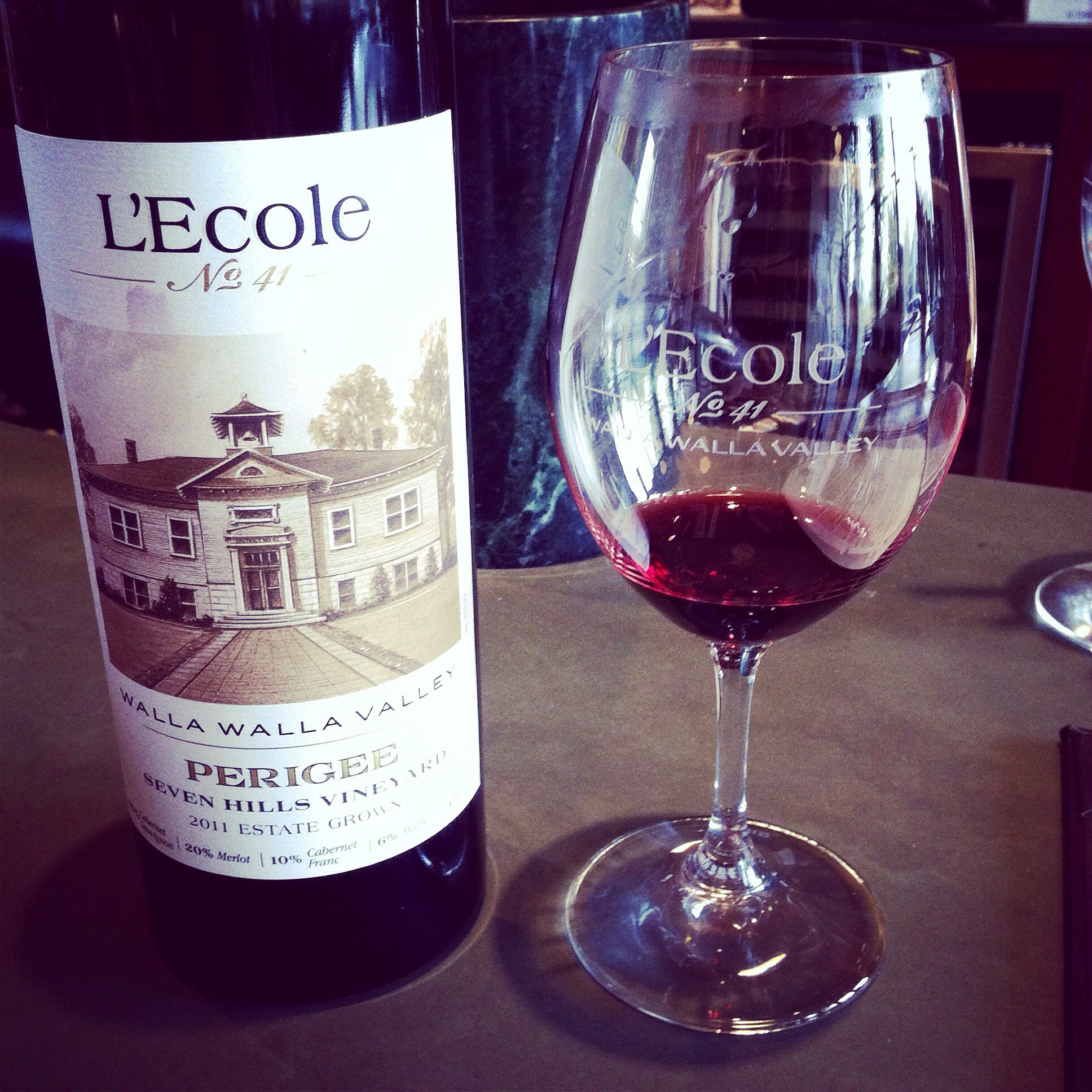 L'ecole 41 Perigee.  Photo by Shana Sokol, Shana Speaks Wine.