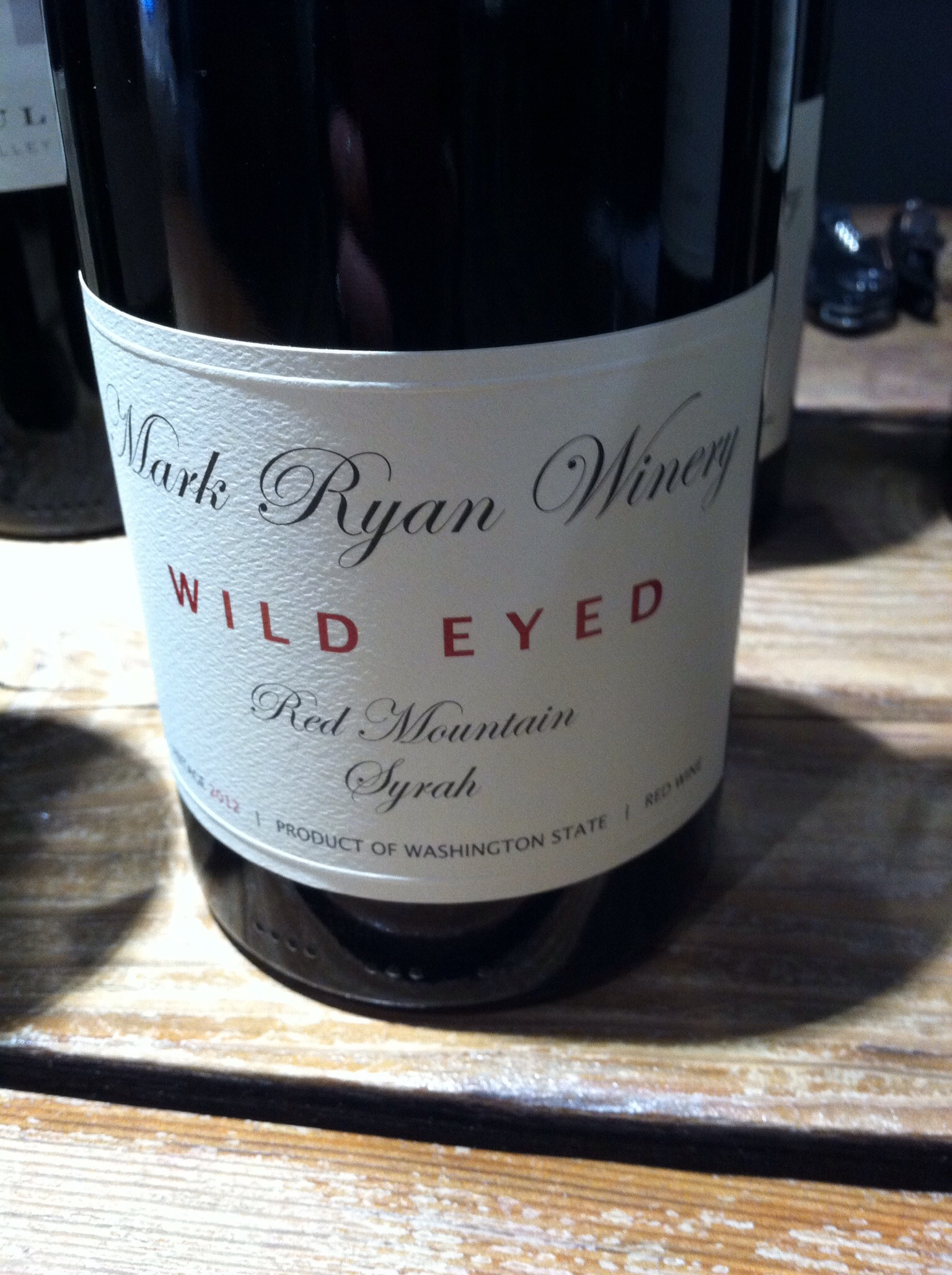 Mark Ryan Wild Eyed. Photo by Shana Sokol, Shana Speaks Wine.