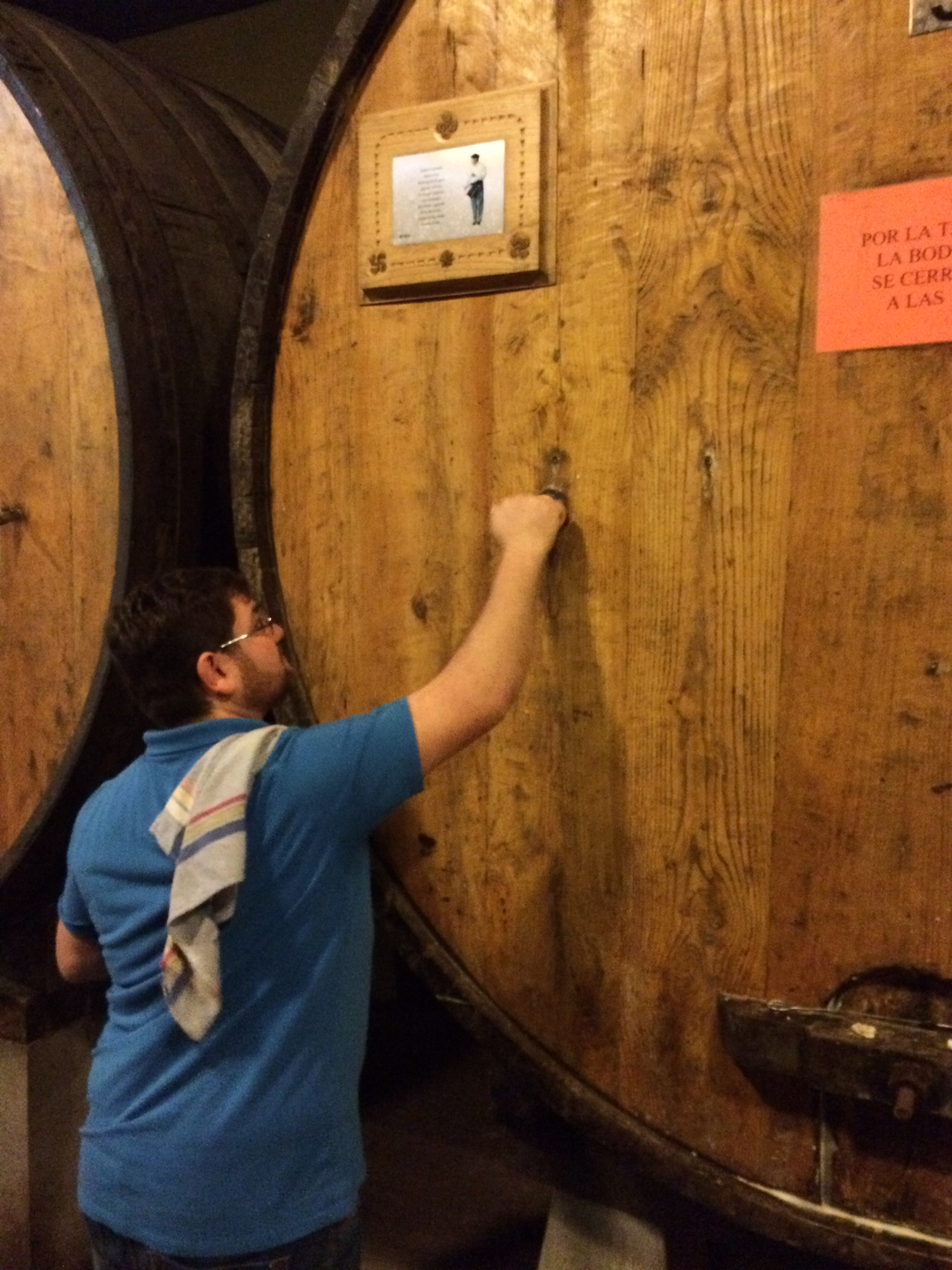 Unplugging the cider barrel