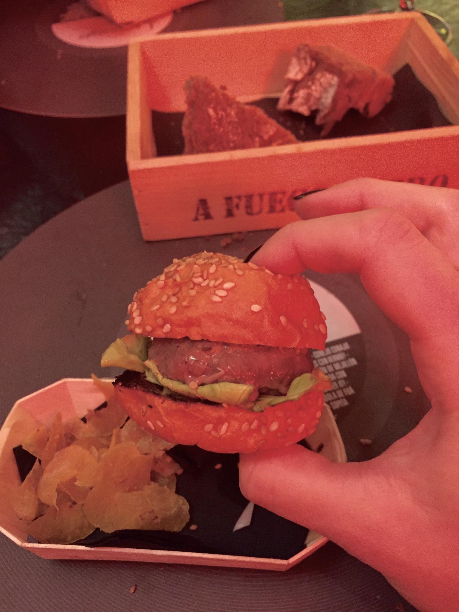 Miniburger ar A Fuego Negro