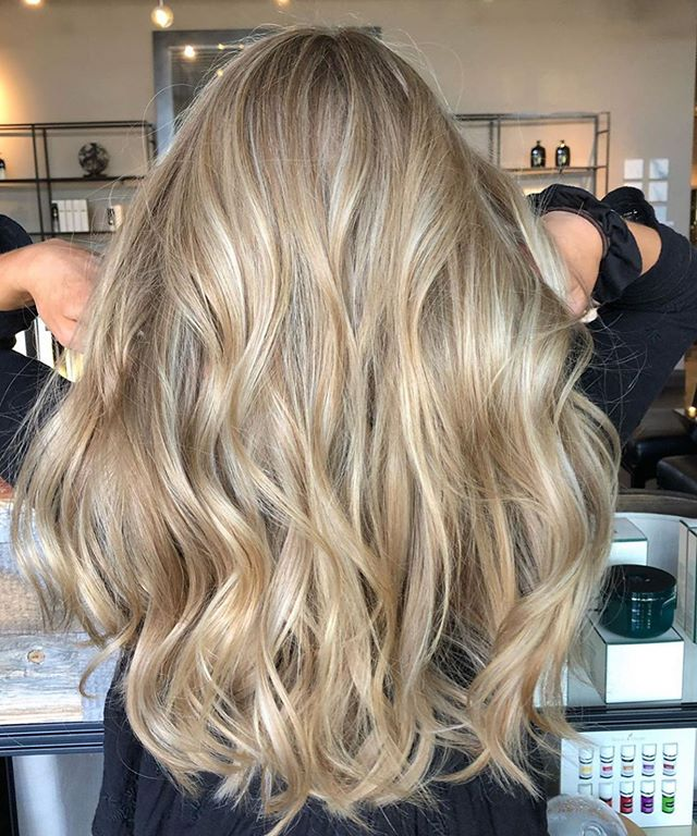 Pretty hair • by @hairbyninakorchemniy