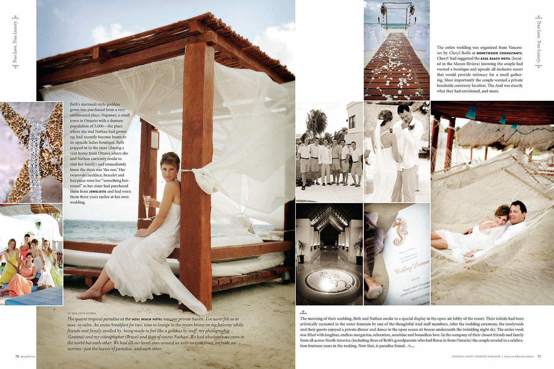As seen in  Wedluxe Magazine   Photos by Leanne Pedersen Photographers   www.leannepedersen.com