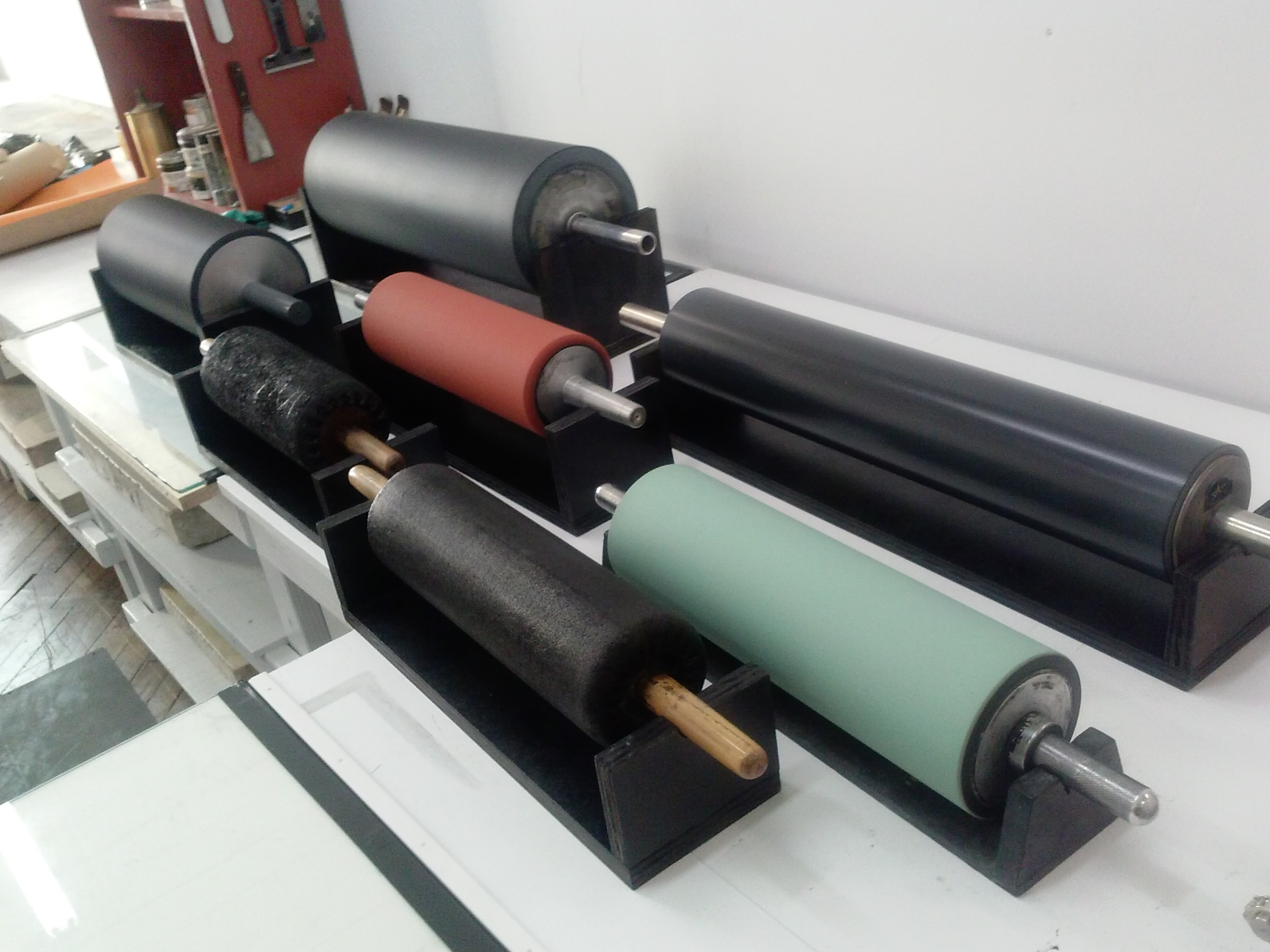 HAND-INKING ROLLERS