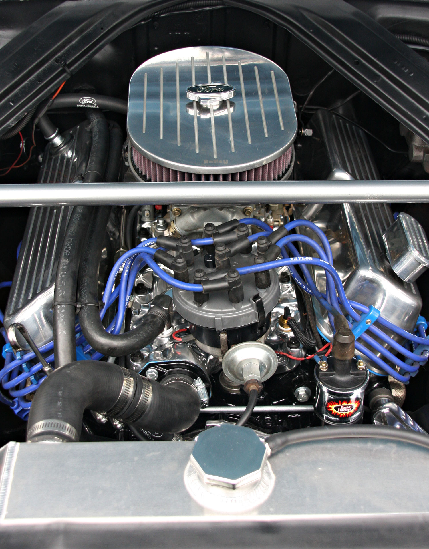 New 1965 Ranchero Engine re-built Mustangs Etc, Engine H&H Flatheads