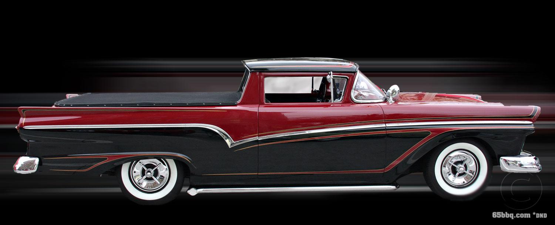 1957 Ford Ranchero George Barris Car Show
