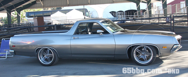 1971 Ford Ranchero Cruisin' for a Cure 2013 Car Show