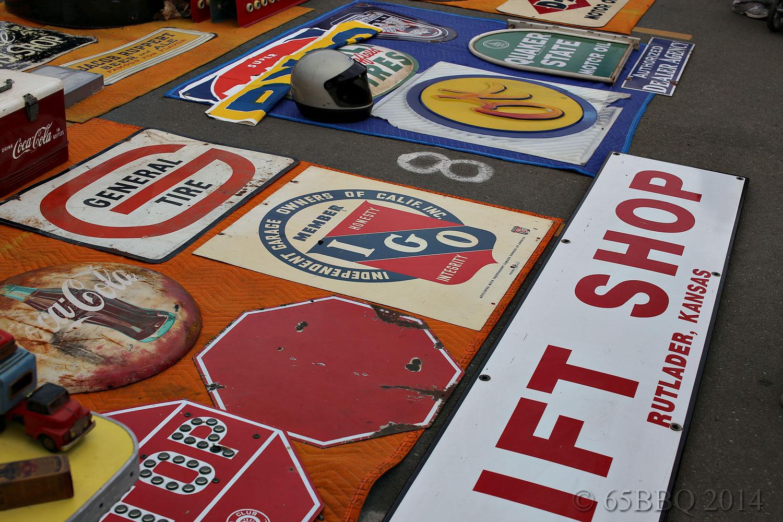 Big D assorted Tin Signs
