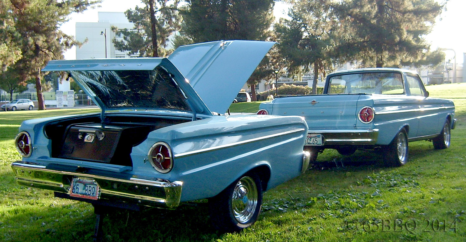 The Rancheo and the Blue Q at Picnic in the Park Burbank, California