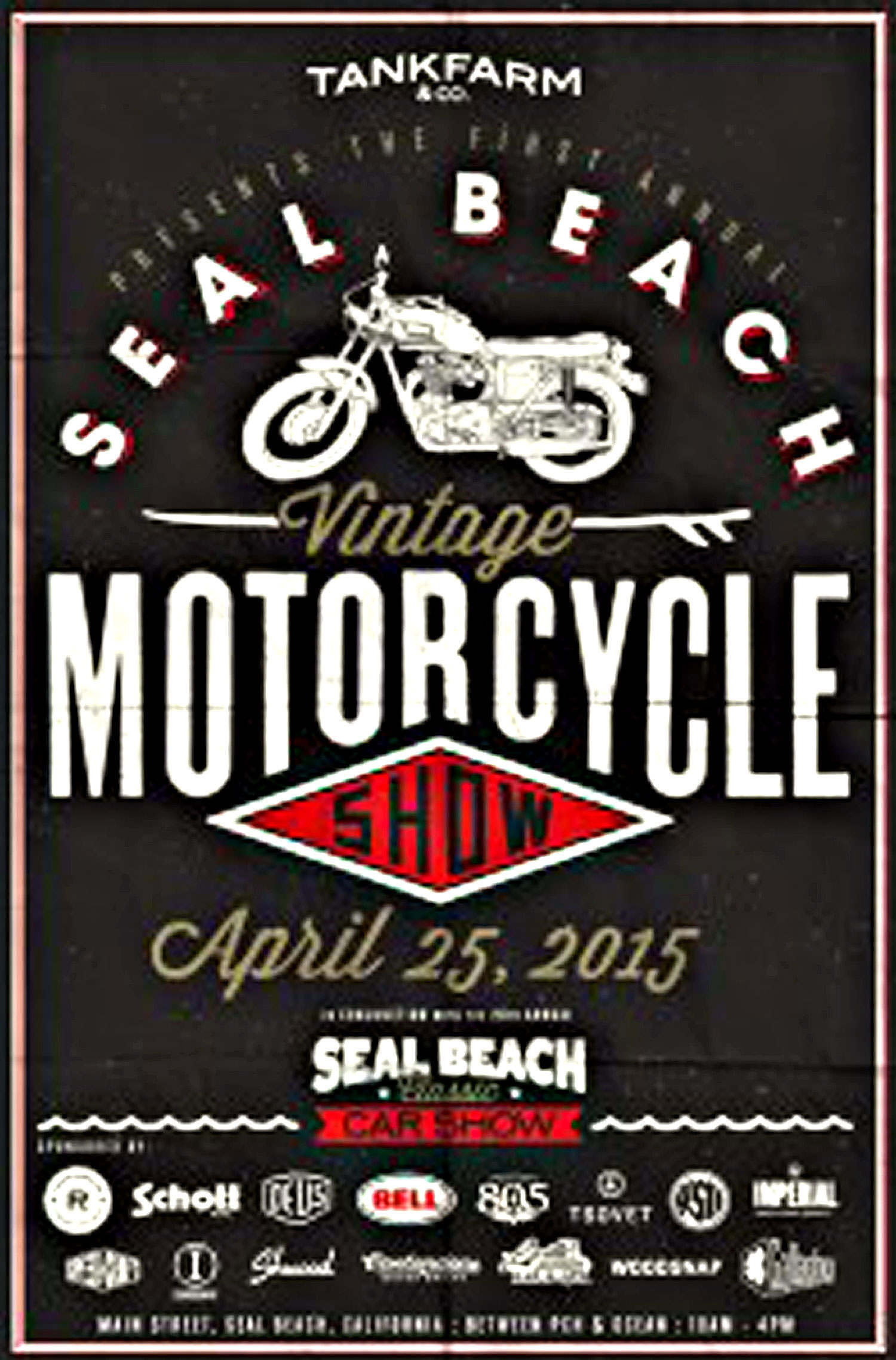 Seal Beach Motorcycle Show April 25, 2015