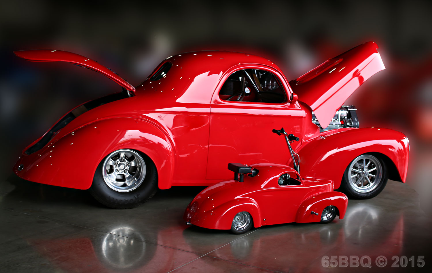 Check out Red Rides.