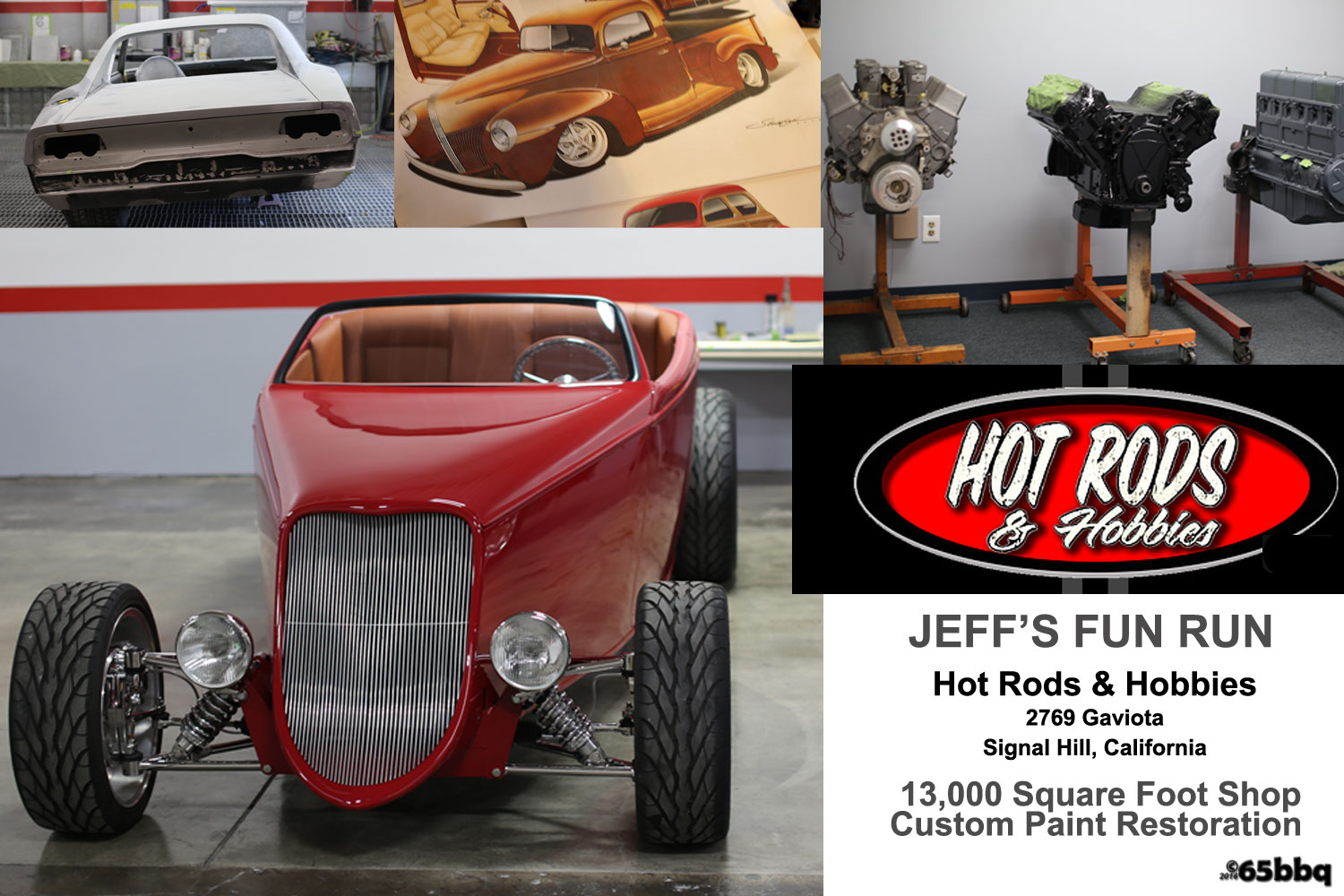 hot rod & hobbies Jeff's fun run 2016 65bbq