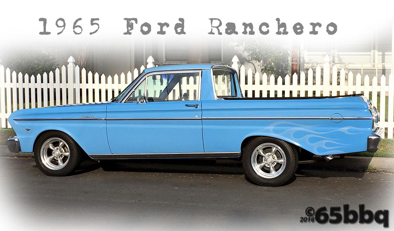 The Ranchero & the blue q 65bbq