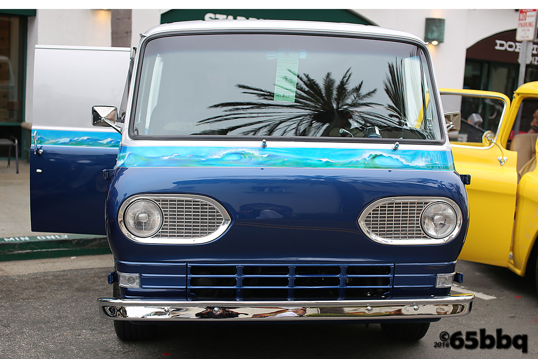 The Van & the Palm Tree