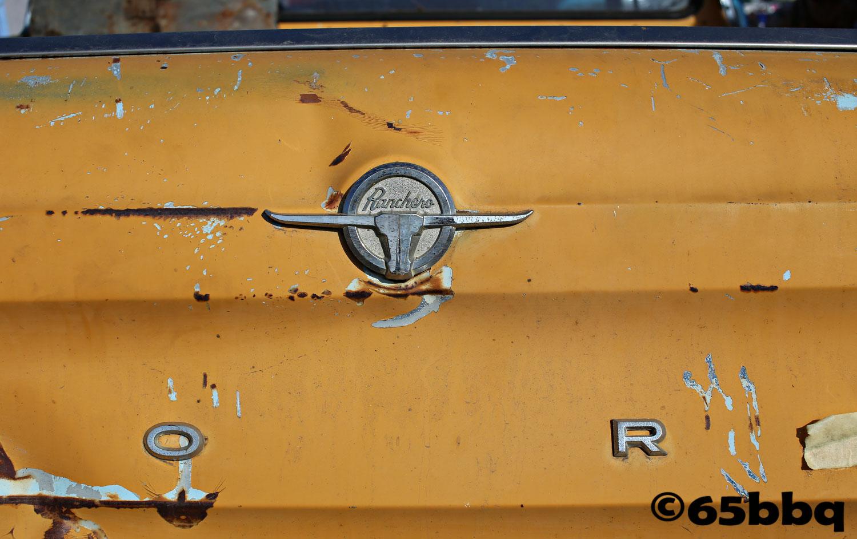 The Ranchero Emblem 65bbq