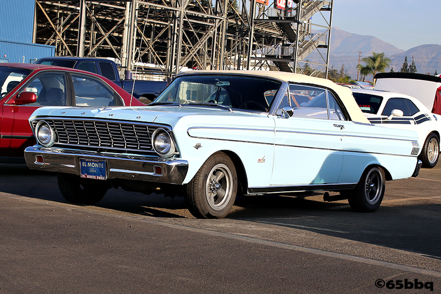 Baby Blue Ford Falcon