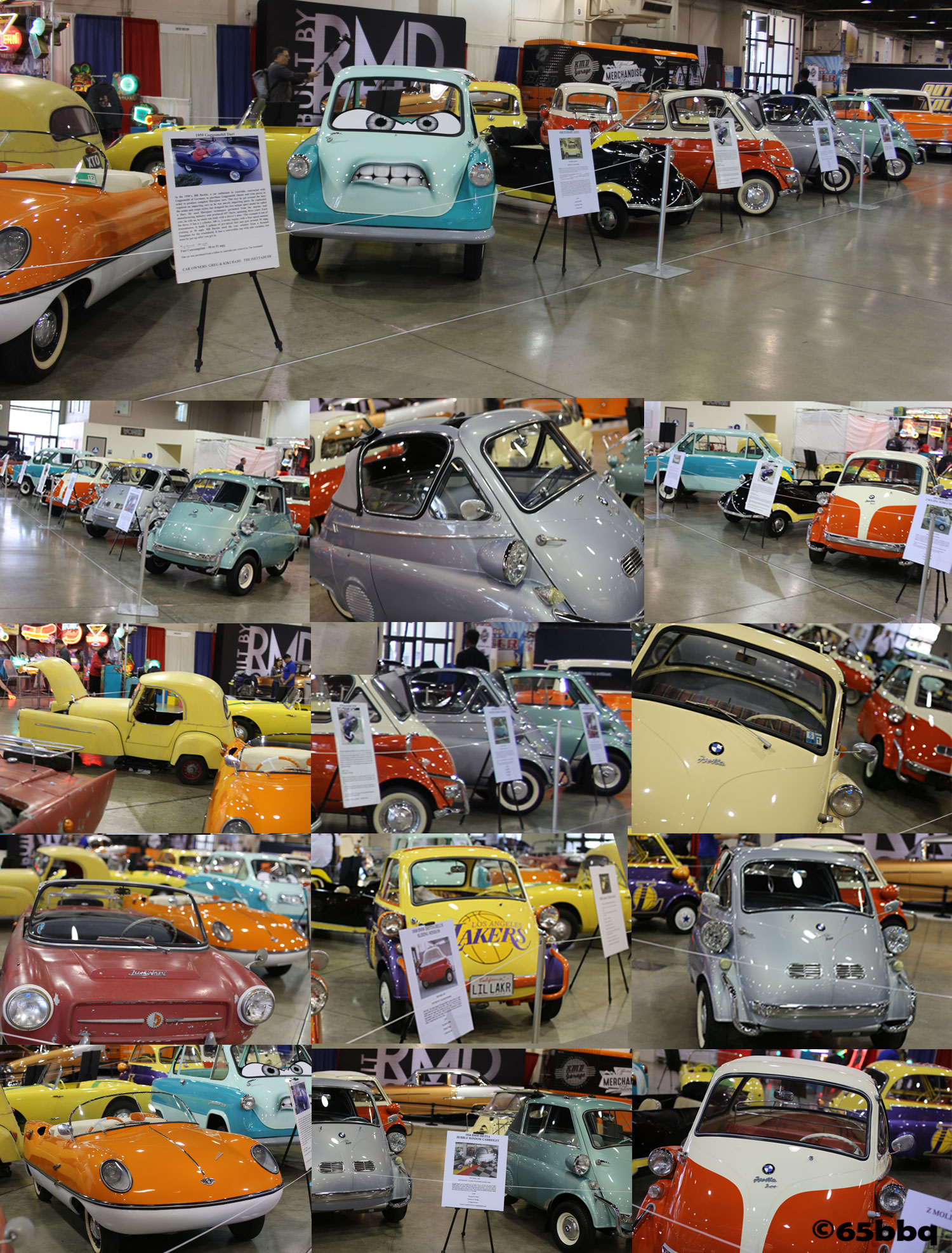 The bubble cars from the Grand National Roadster Car Show 2018