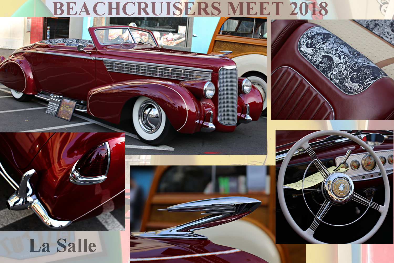 La Salle at the Beachcruisers Meet 2018 65bbq