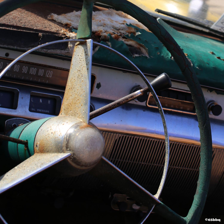 The wheels of Pomona 65bbq