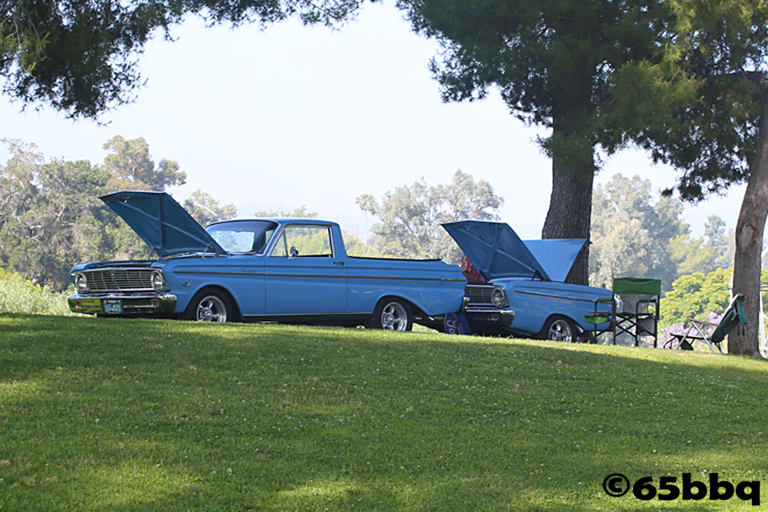 The Ranchero and the Blue Q