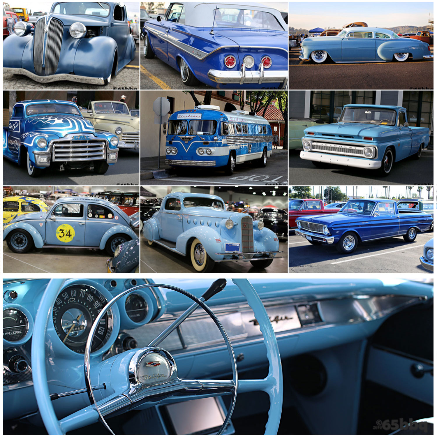 Blue Tones at the Ranchero and the Blue Q