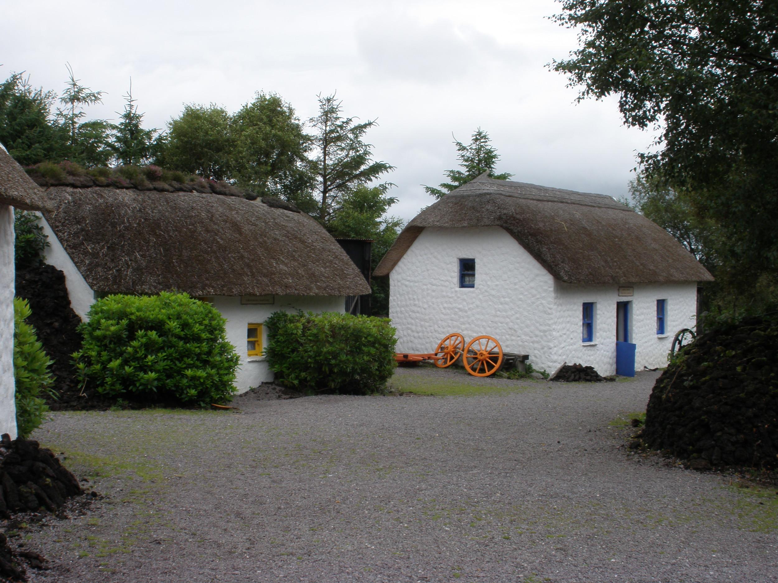Traditional Cottages at Kerry Bog Village