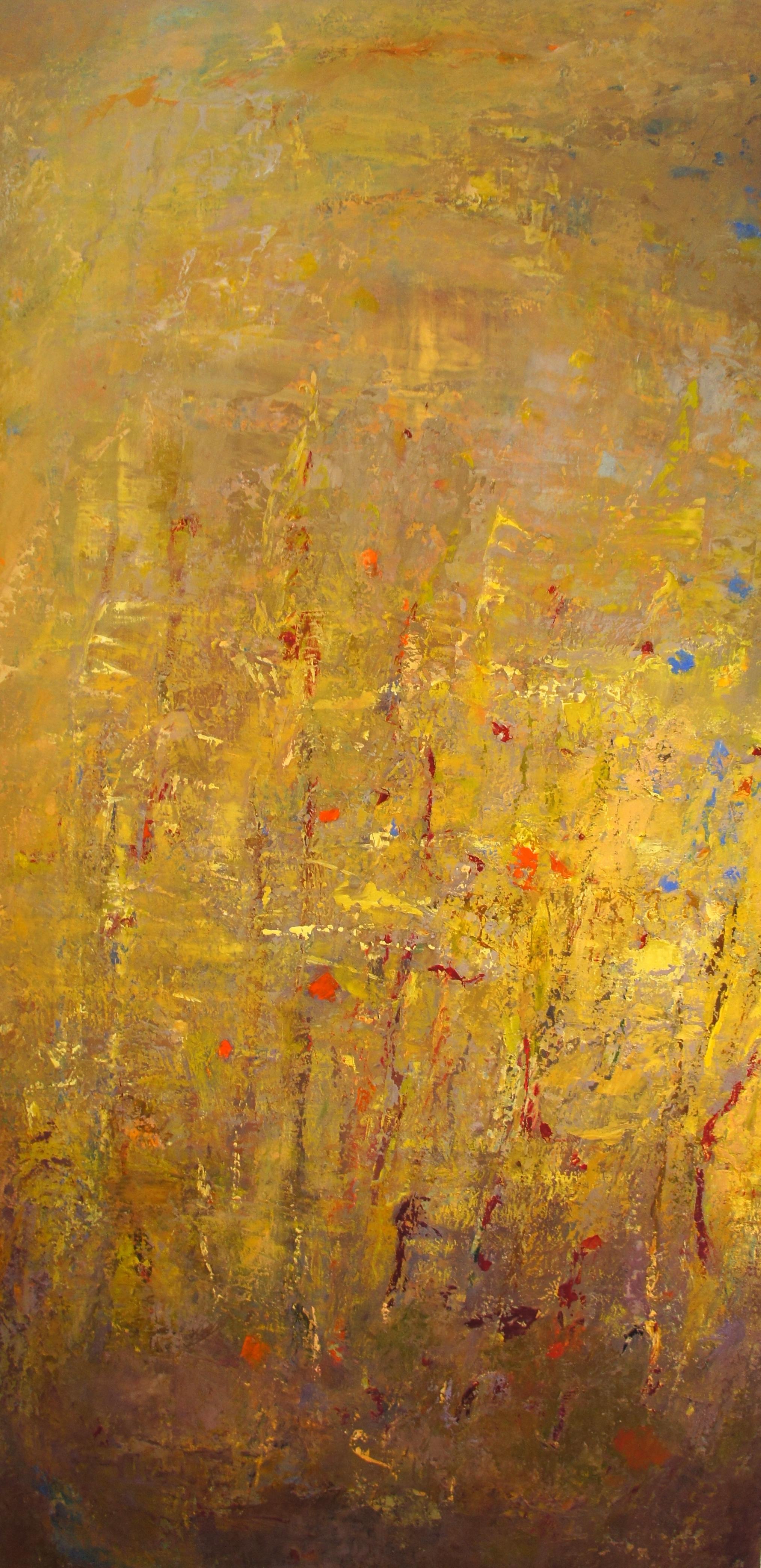 Across Times 2013, Oil on Linen (52 x 26 inch)