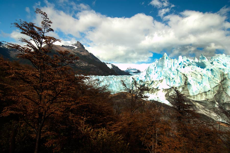 The 60-mile long Perito Moreno in Argentina from my  blog  which captures the experience of trekking in Patagonia for 4 months.