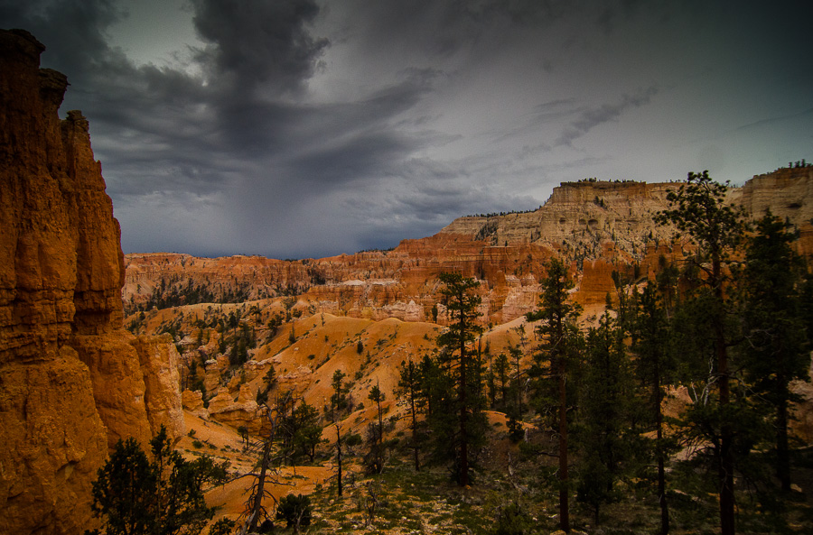 Lightning and snow in the high desert. We like to keep things exciting.