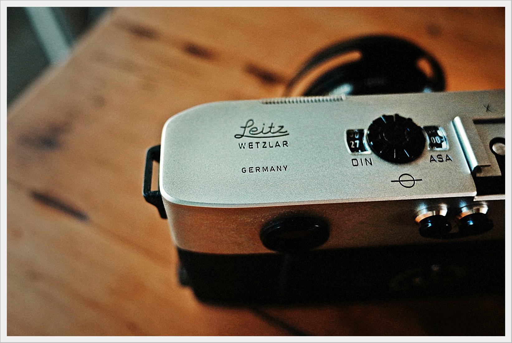 Leica M5 Top Detail