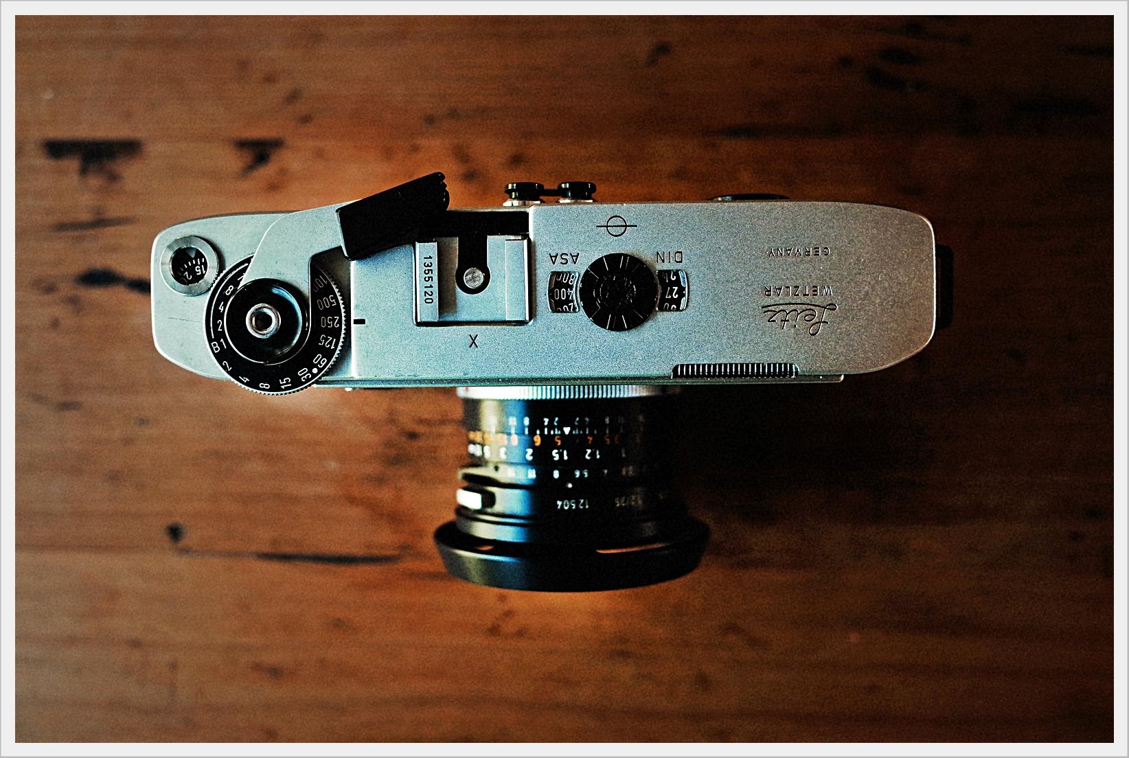 Leica M5 Top Plate