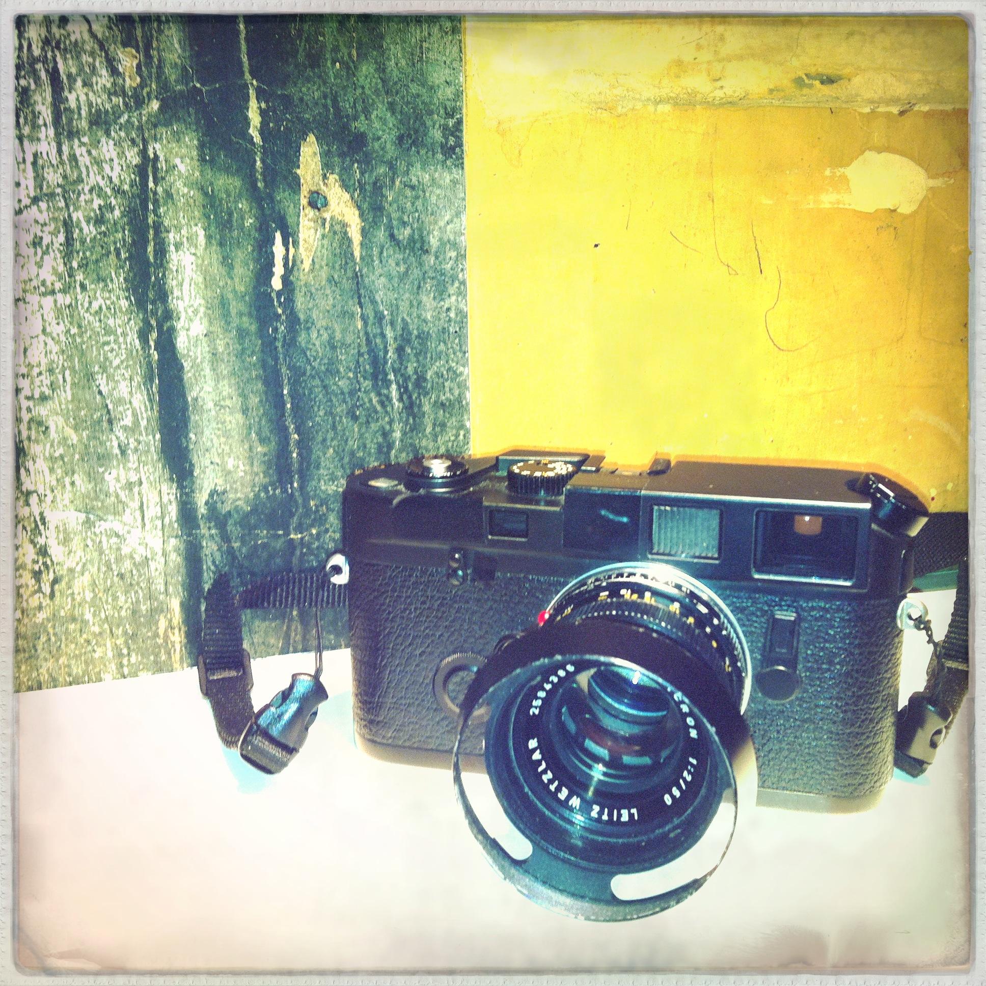Leica M6 with 50 f/2 Summicron