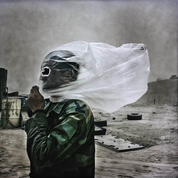 Photographer Balazs Gardi co-created the experimental media project Basetrack, which  documents   the deployment of the 1st Battalion, Eighth Marines, at Combat Outpost  7171 in Helmand, Afghanistan. Image © Balazs Gardi / Basetrack.org