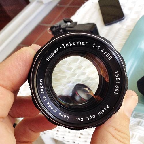 WONDER LENS Asahi Pentax Super-Multi-Coated Takumar 50mm f1